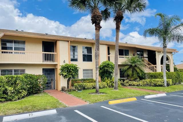 5635 Queen Palm Court B - 19, Delray Beach, FL 33484 (#RX-10701435) :: The Rizzuto Woodman Team