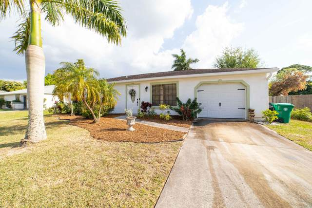 2380 SE Gillette Avenue, Port Saint Lucie, FL 34952 (MLS #RX-10701662) :: The Paiz Group