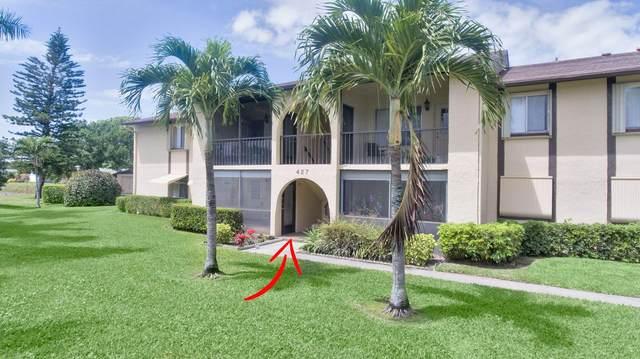 427 Pine Glen Lane C-1, Greenacres, FL 33463 (#RX-10701910) :: Posh Properties