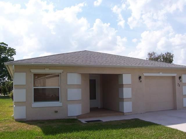 73 Golf Drive, Port Saint Lucie, FL 34952 (MLS #RX-10701964) :: The Jack Coden Group