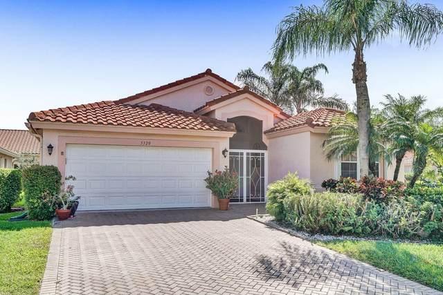 5320 Glenville Drive, Boynton Beach, FL 33437 (MLS #RX-10702777) :: The Jack Coden Group