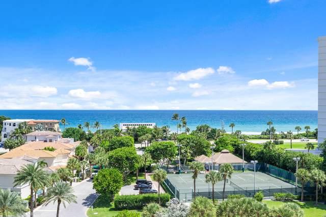 4748 S Ocean Boulevard 8B, Highland Beach, FL 33487 (#RX-10702859) :: Baron Real Estate