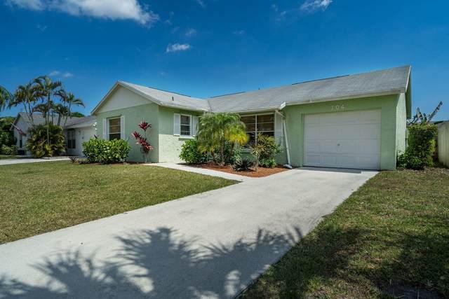104 Wingate Drive, Jupiter, FL 33458 (MLS #RX-10702994) :: The Jack Coden Group