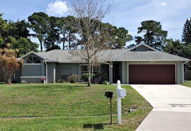 1697 SW Clover Street, Port Saint Lucie, FL 34953 (MLS #RX-10703001) :: The Jack Coden Group