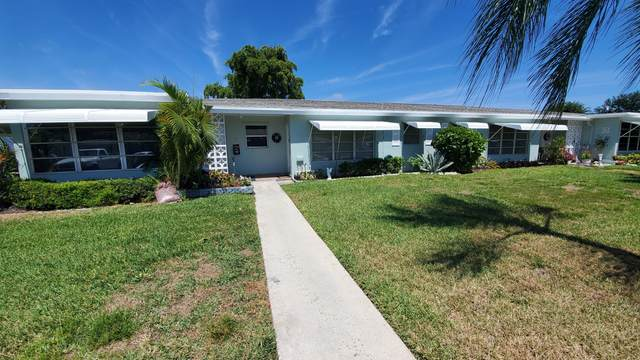 185 High Point Terrace E B, Delray Beach, FL 33445 (#RX-10703152) :: Ryan Jennings Group