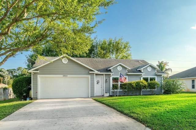 1844 SW Grant Avenue, Port Saint Lucie, FL 34953 (#RX-10703214) :: Baron Real Estate