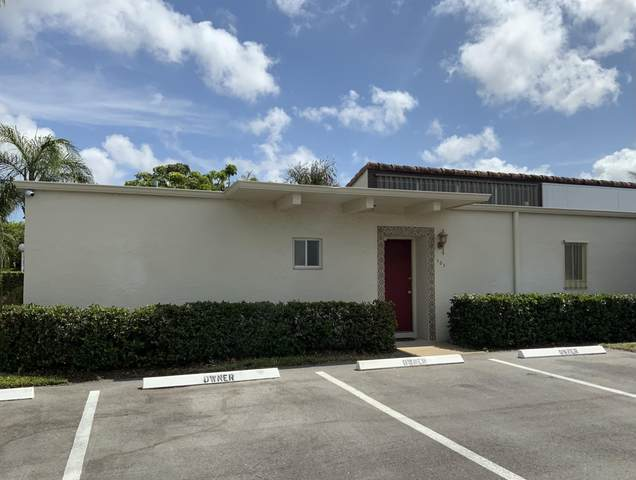 2671 Boundbrook Boulevard #101, West Palm Beach, FL 33406 (#RX-10703232) :: Signature International Real Estate