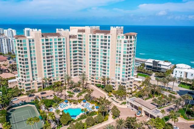 3700 S Ocean Boulevard #507, Highland Beach, FL 33487 (#RX-10703242) :: Ryan Jennings Group