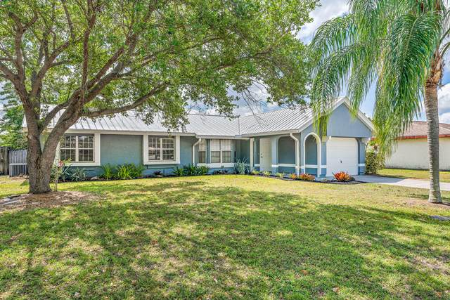 1974 SE Tiffany Avenue, Port Saint Lucie, FL 34952 (MLS #RX-10703318) :: The Paiz Group