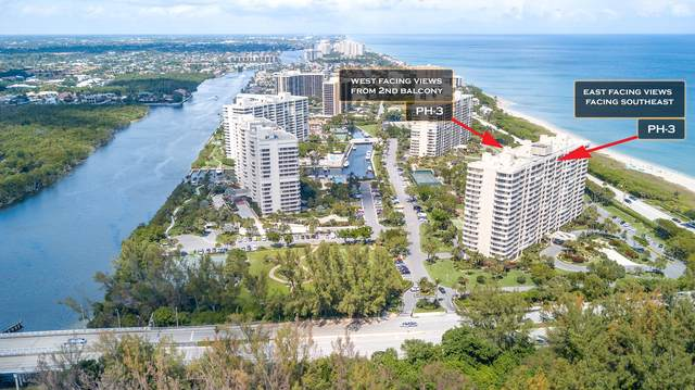 4001 N Ocean Boulevard Ph-3, Boca Raton, FL 33431 (#RX-10703490) :: Ryan Jennings Group