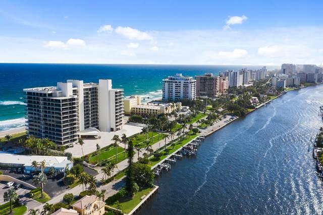 2727 S Ocean Boulevard #1008, Highland Beach, FL 33487 (#RX-10703511) :: Signature International Real Estate