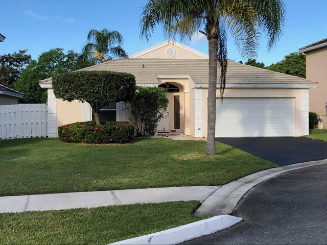 5533 NW 53rd Circle, Coconut Creek, FL 33073 (MLS #RX-10703717) :: The Jack Coden Group
