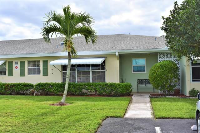 203 Manatee Lane C, Fort Pierce, FL 34950 (#RX-10703850) :: The Rizzuto Woodman Team