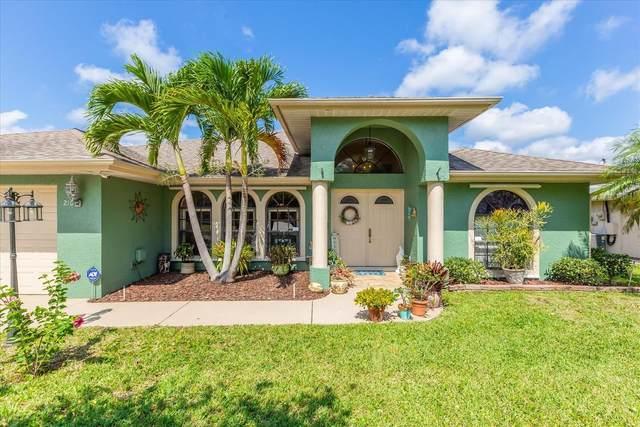 210 Ramie Lane, Port Saint Lucie, FL 34952 (MLS #RX-10704005) :: The Jack Coden Group