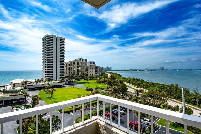 5550 N Ocean Drive 7-B, Singer Island, FL 33404 (#RX-10704127) :: DO Homes Group
