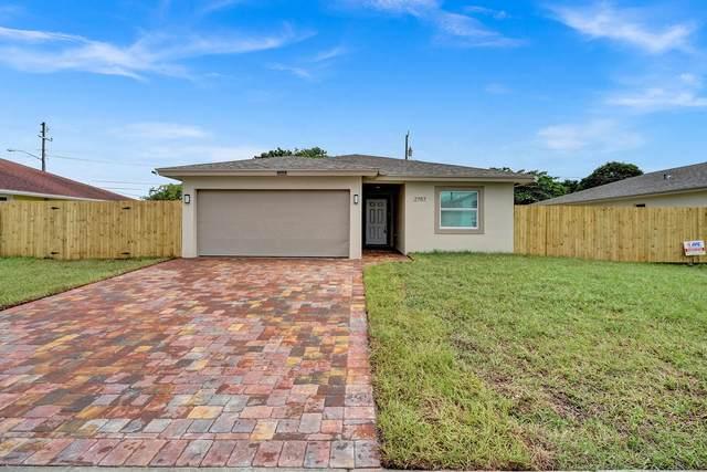 2811 Saranac Avenue, West Palm Beach, FL 33409 (#RX-10704194) :: Michael Kaufman Real Estate