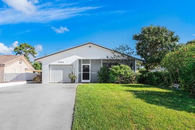 5341 Garfield Road, Delray Beach, FL 33484 (MLS #RX-10704368) :: The Paiz Group
