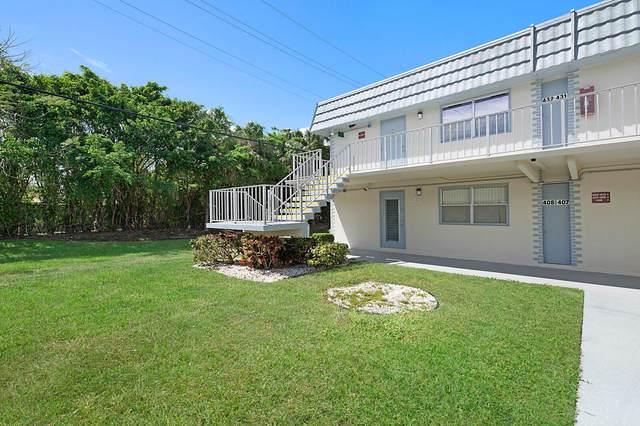 408 Brittany I #408, Delray Beach, FL 33446 (#RX-10704420) :: Baron Real Estate