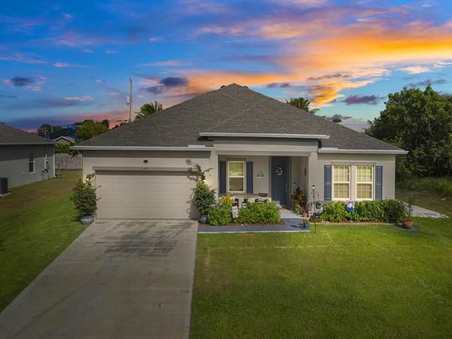 4617 SW Keats Street, Port Saint Lucie, FL 34953 (MLS #RX-10704822) :: Berkshire Hathaway HomeServices EWM Realty