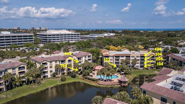 200-800 Uno Lago Drive 9 Separate Unit, Juno Beach, FL 33408 (#RX-10704844) :: Heather Towe | Keller Williams Jupiter