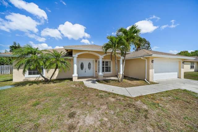 927 SW Mccall Road, Port Saint Lucie, FL 34953 (MLS #RX-10705009) :: The Paiz Group