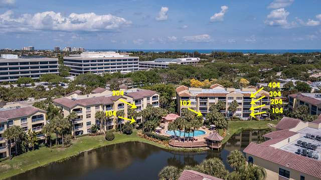200-800 Uno Lago Drive 9 Separate Unit, Juno Beach, FL 33408 (#RX-10705213) :: Heather Towe | Keller Williams Jupiter