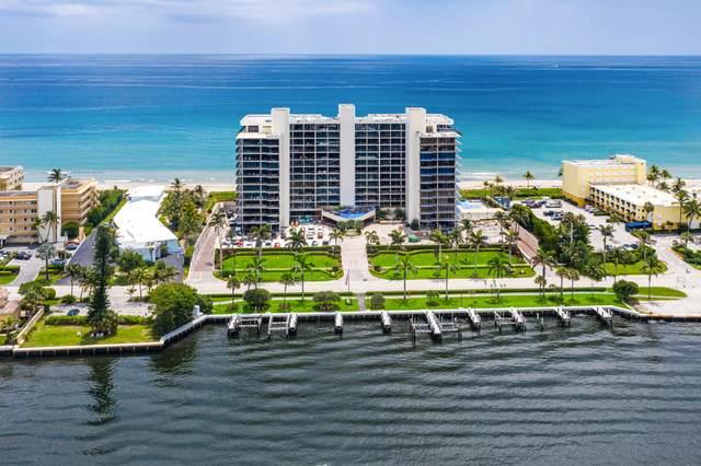 2727 S Ocean Boulevard #1004, Highland Beach, FL 33487 (#RX-10705302) :: Signature International Real Estate