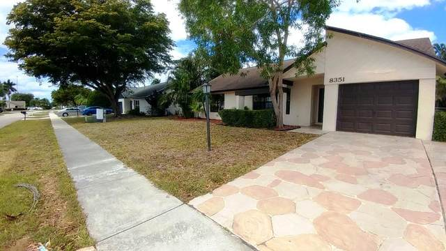 8351 Blue Cypress Drive, Lake Worth, FL 33467 (MLS #RX-10705488) :: The Jack Coden Group