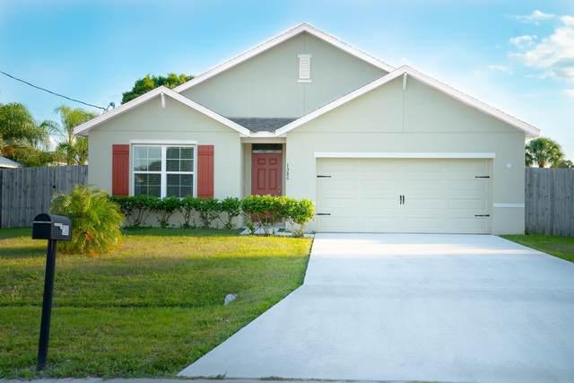 1380 SW Granville Avenue, Port Saint Lucie, FL 34953 (MLS #RX-10705692) :: The Jack Coden Group