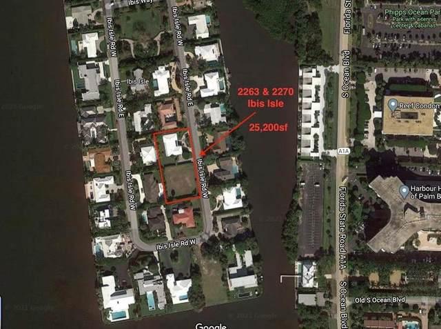 2263, 2270 Ibis Isle Road E, Palm Beach, FL 33480 (MLS #RX-10706063) :: The Jack Coden Group