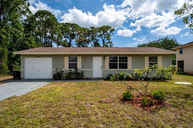 2189 SW Susset Lane, Port Saint Lucie, FL 34953 (MLS #RX-10706121) :: The Jack Coden Group
