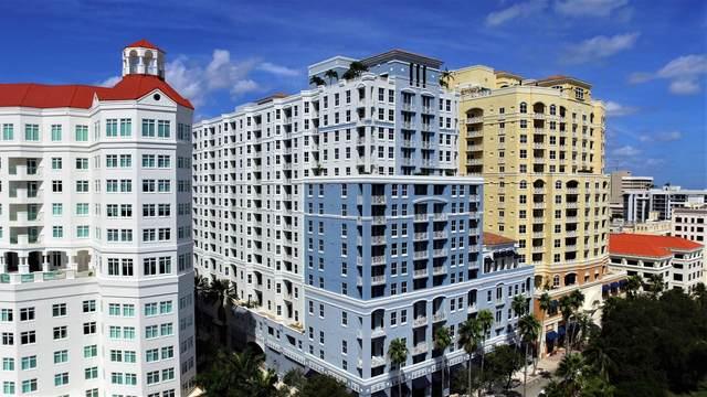 255 Evernia Street #809, West Palm Beach, FL 33401 (#RX-10706241) :: Ryan Jennings Group