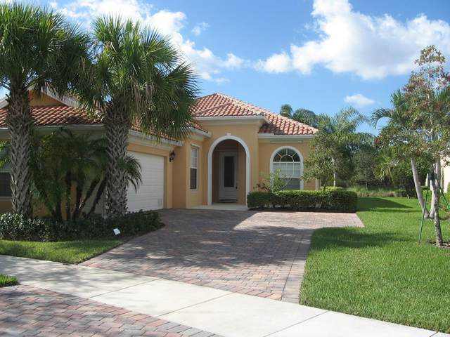 10950 SW Fall Creek Drive, Port Saint Lucie, FL 34987 (#RX-10706435) :: Baron Real Estate