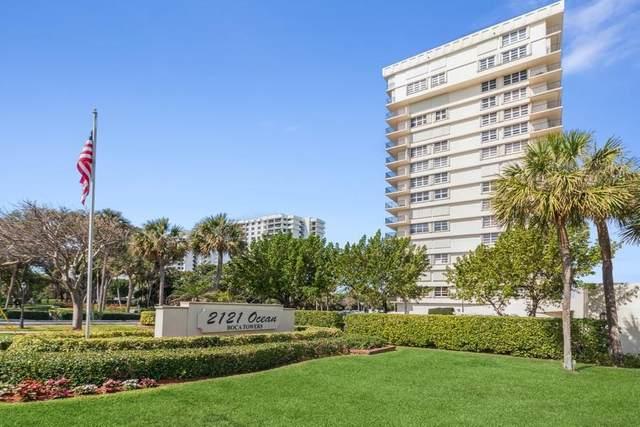 2121 N. Ocean Blvd. 804 E, Boca Raton, FL 33431 (#RX-10706494) :: The Power of 2   Century 21 Tenace Realty