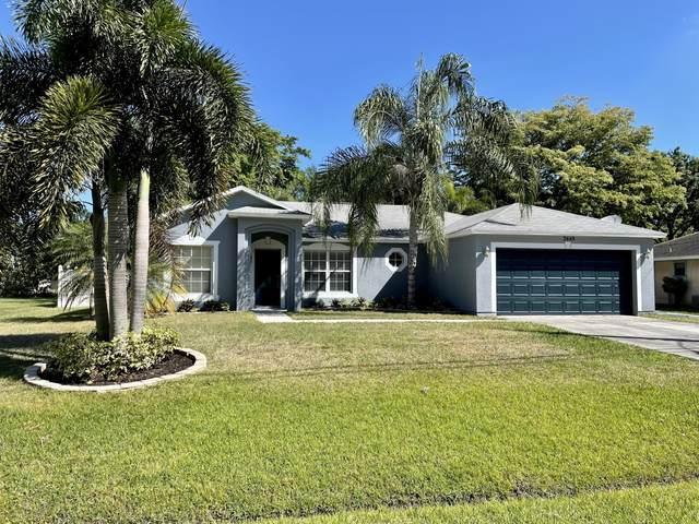 2449 SE Mariposa Avenue, Port Saint Lucie, FL 34953 (MLS #RX-10706512) :: The Jack Coden Group