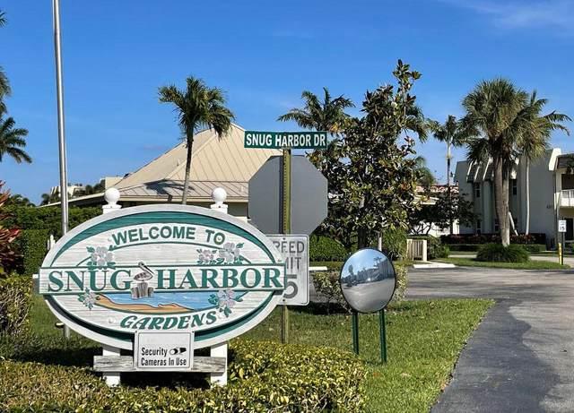 639 Snug Harbor Drive L2, Boynton Beach, FL 33435 (#RX-10706519) :: The Rizzuto Woodman Team