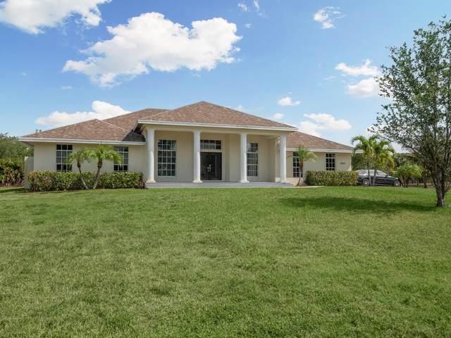 17431 Valencia Boulevard, Loxahatchee, FL 33470 (MLS #RX-10706796) :: Berkshire Hathaway HomeServices EWM Realty