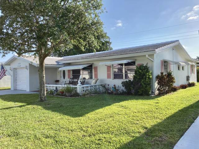 128 NW 10th Court, Boynton Beach, FL 33426 (MLS #RX-10707009) :: Berkshire Hathaway HomeServices EWM Realty