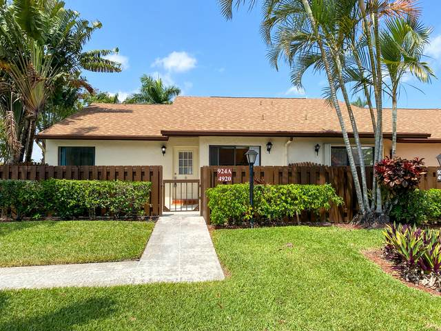 4920 Sable Pine Circle A, West Palm Beach, FL 33417 (MLS #RX-10707030) :: Berkshire Hathaway HomeServices EWM Realty