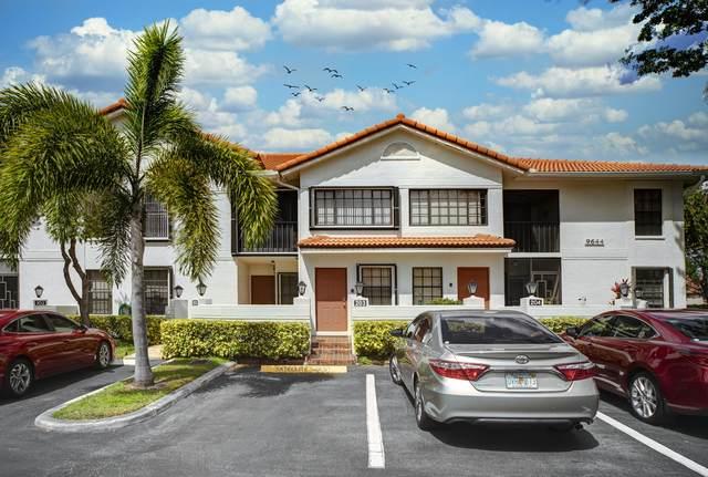 9644 E Sills Drive #203, Boynton Beach, FL 33437 (MLS #RX-10707048) :: Berkshire Hathaway HomeServices EWM Realty