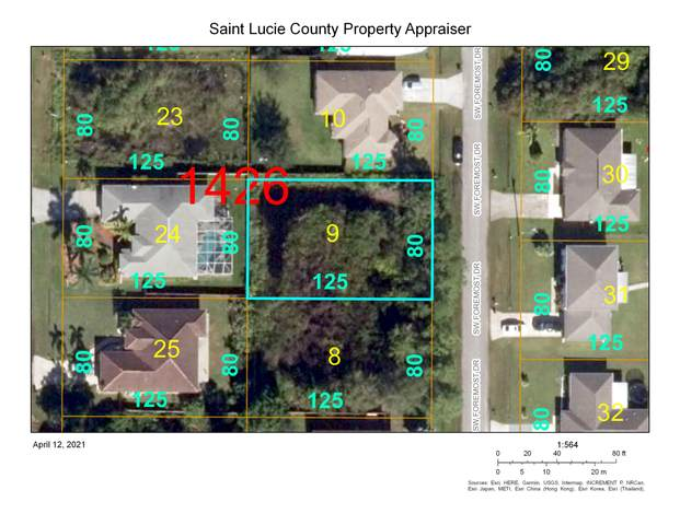 3362 SW Foremost Drive, Port Saint Lucie, FL 34953 (#RX-10707330) :: Baron Real Estate