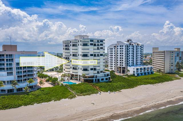 3201 S Ocean Boulevard #601, Highland Beach, FL 33487 (MLS #RX-10707340) :: Berkshire Hathaway HomeServices EWM Realty