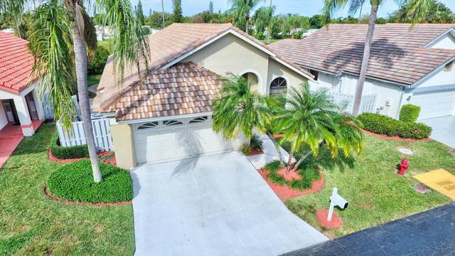 169 Executive Circle, Boynton Beach, FL 33436 (MLS #RX-10707353) :: The Paiz Group