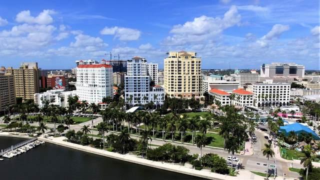 255 Evernia Street #1119, West Palm Beach, FL 33401 (#RX-10707386) :: Baron Real Estate