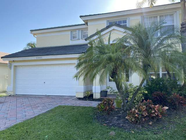 2447 Country Golf Drive, Wellington, FL 33414 (MLS #RX-10707472) :: The Jack Coden Group