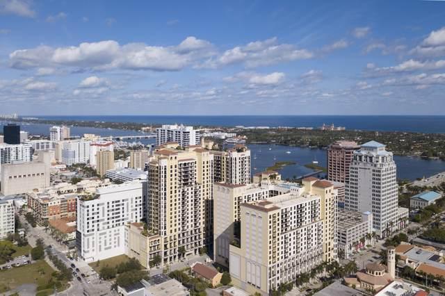 801 S Olive Avenue #1621, West Palm Beach, FL 33401 (#RX-10707475) :: The Rizzuto Woodman Team