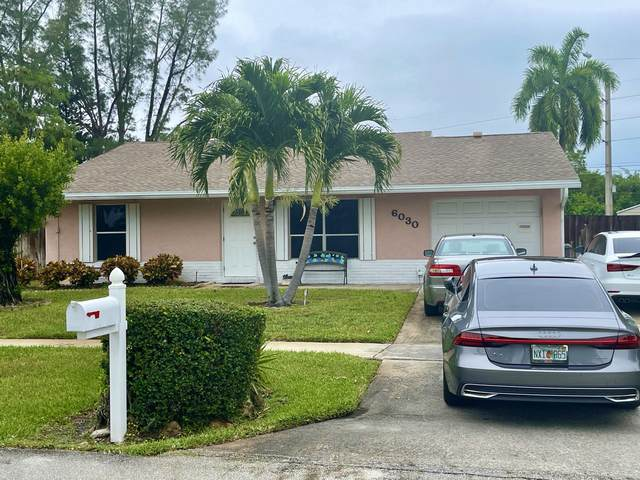 6030 Carthage Circle N, Lake Worth, FL 33463 (MLS #RX-10707504) :: The Jack Coden Group