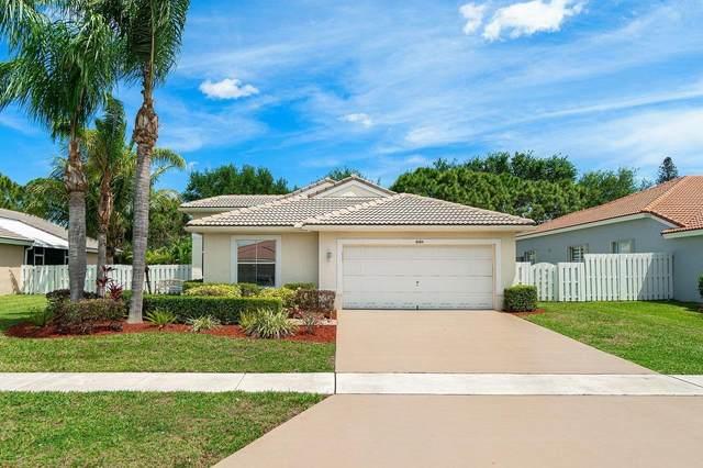 6184 Sand Hills Circle, Lake Worth, FL 33463 (MLS #RX-10707601) :: The Jack Coden Group