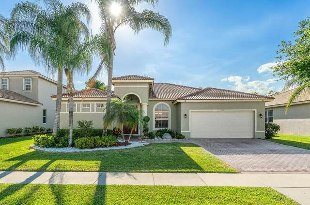 1341 Stonehaven Estates Drive, West Palm Beach, FL 33411 (MLS #RX-10707605) :: The Paiz Group
