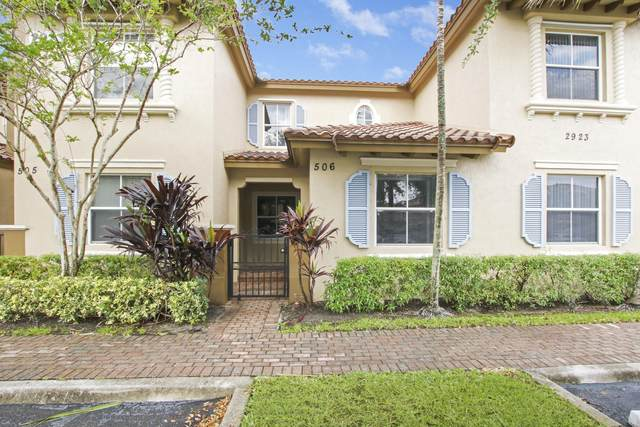2923 Hope Valley Street #506, West Palm Beach, FL 33411 (#RX-10707739) :: Heather Towe | Keller Williams Jupiter